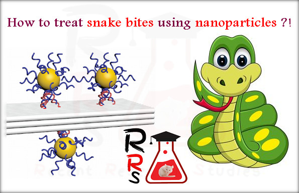 how to treat snake bites using nanoparticles