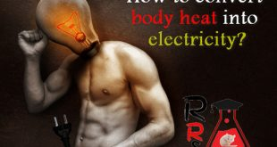 how to convert body heat into electricity
