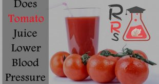 does tomato juice lower blood pressure