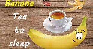 Banana Tea to Sleep