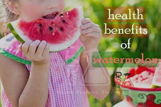 health benefits of watermelon - Recent Research Studies